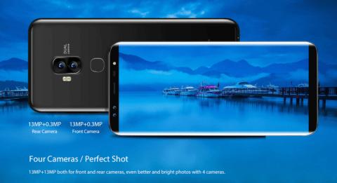 Blackview S8 画面占有率90% Galaxyライクなベゼルレス5.7インチスマホが$149.99で独占セール開始!