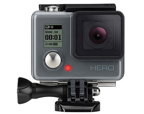 GoProシリーズ最安のGoProヒーローアクションスポーツカメラが$63.08!