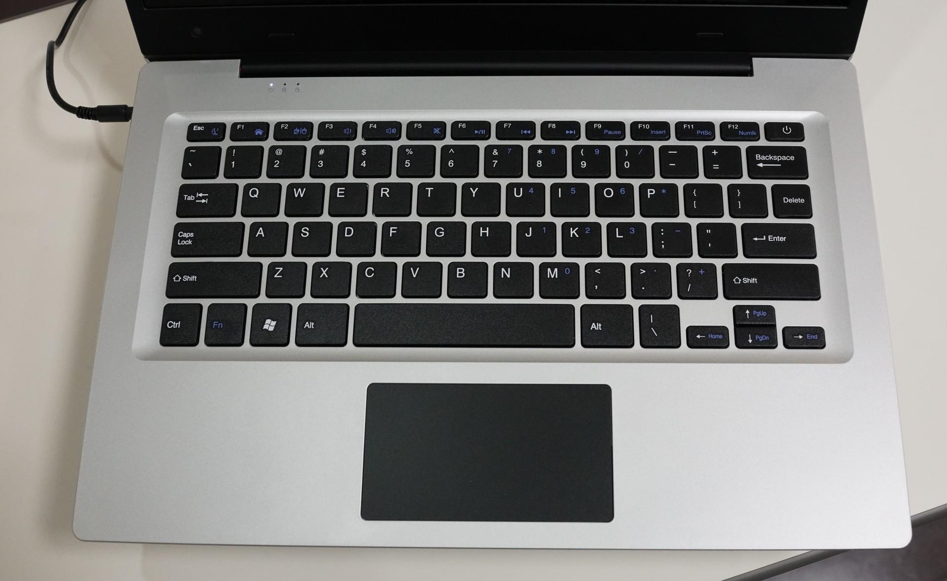 Jumper EZbook 3S 実機レビュー キーボードの配列などの説明参考画像