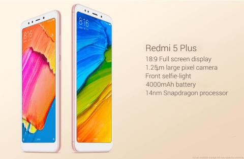 【クーポンで$139.43】Xiaomi Redmi 5 Plus コスパの良いミドルレンジ5.99インチスマホ