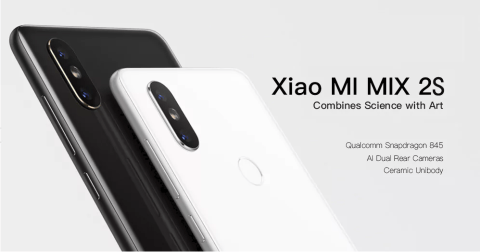 【最安特価!$479.99】Xiaomi Mi Mix 2S B6/B19/B28フルバンド対応スマホ