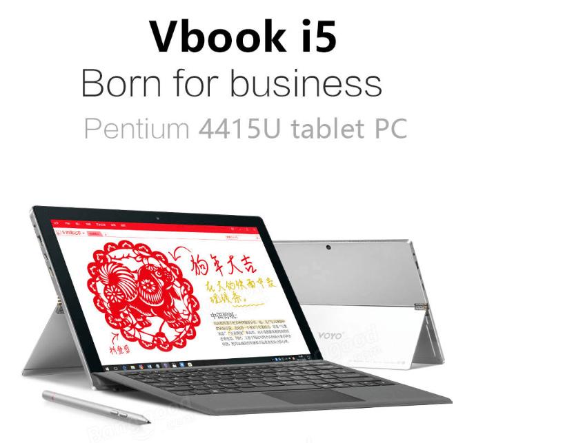 VOYO VBOOK I5 Intel Pentium 搭載12.6インチで900gのタブレットPC