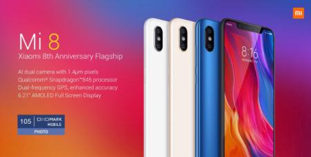 【クーポンで$336.99】Xiaomi Mi 8 スペックレビュー・CPU性能・割引クーポンまとめ