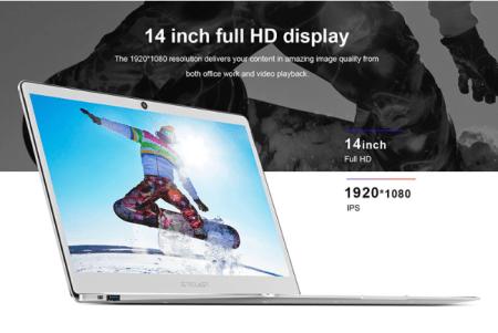 【セールで$269.99】Teclast F7 Intel Apollo Lake N3450搭載14インチノートPC