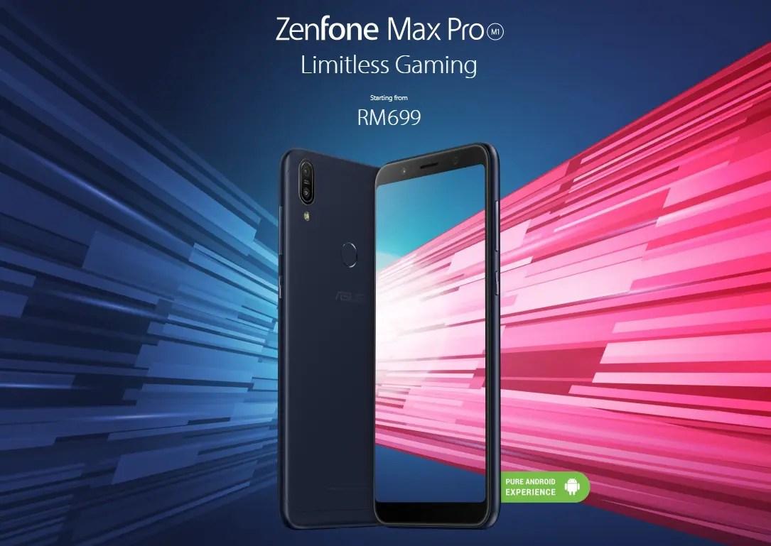 ZenFone Max Pro (M1) スペックレビュー B6/B19対応DSDV6インチスマホが$309.99でセール中