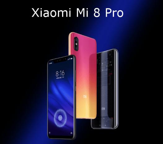 Xiaomi Mi8 Mi 8 Pro 6GB RAM 128GB CN