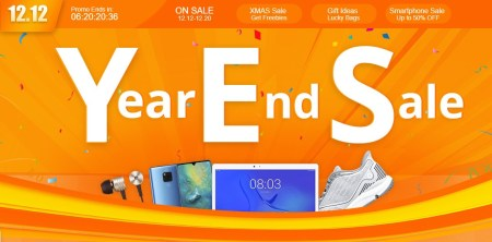 GeekBuyingで12月の特大セール「12.12 YearEndSale」開催中 Honor 9が$349.99/DOOGEE S60が$239.99など