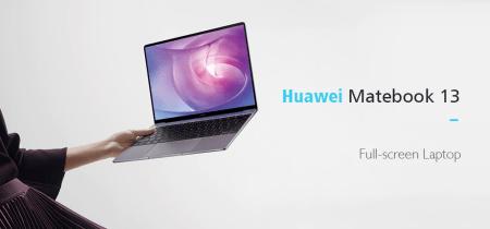 【クーポンで$799.99】Huawei Matebook 13 指紋認証搭載13インチ2KのディスプレイのノートPCが登場!