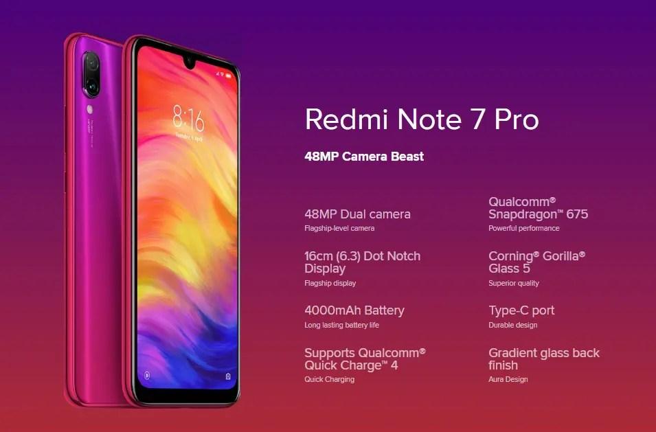 Xiaomi Redmi Note 7 Pro スペックレビュー