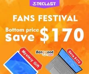 BanggoodでアクセサリーがフリーになるTeclastセール開催中!キーボードやマウスが貰えます!