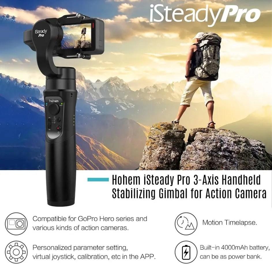 Hohem iSteady Pro 3軸ハンドヘルド安定化ジンバル