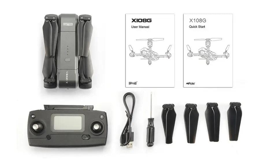 MJX X103W 2K Camera 5G Wifi FPV GPS RC Drone