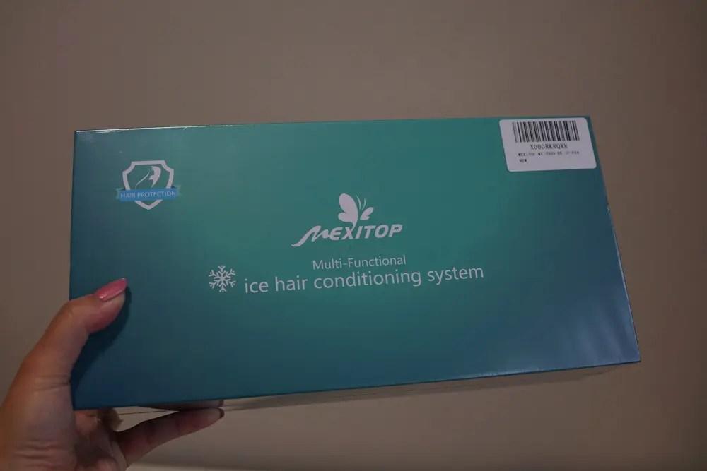 マイナスイオンと赤外線と冷感ブラシで頭皮と髪をケアするMEXITOPヘアブラシ