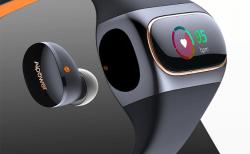 『Wearbuds』Bluetooth5.0・Apt-X対応イヤホンを内蔵したスマートウォッチがクラウドファンディングに登場!早割で25%割引も!