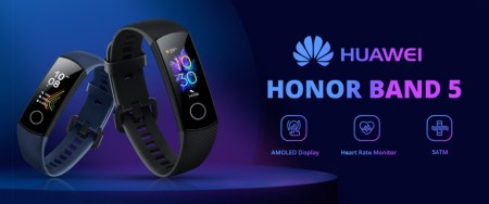 GeekbuyingでHuaweiのスマートバンド&ウォッチセール開催中~Honor Band 5 $32.99, Band 3 Pro $42.99, Honor Magic $109.99, HUAWEI WATCH GT Sports $159.99など