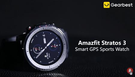 【セール価格$173.99】Amazfit Stratos 3 Smart GPS Sports Watch スペックレビューと割引クーポンまとめ