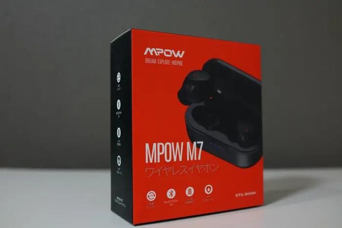 Mpow M7 ワイヤレス イヤホン外観写真