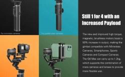 FeiyuTech G6 Max スマホとカメラとアクションカメラでマルチに使えるおすすめのジンバルスタビライザー
