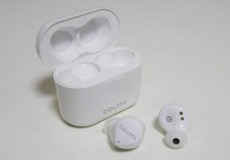 クーポンで2399円!Bluetooth5.0・AAC・6時間連続再生可能なCOUMI 左右独立型ワイヤレスイヤホンレビュー