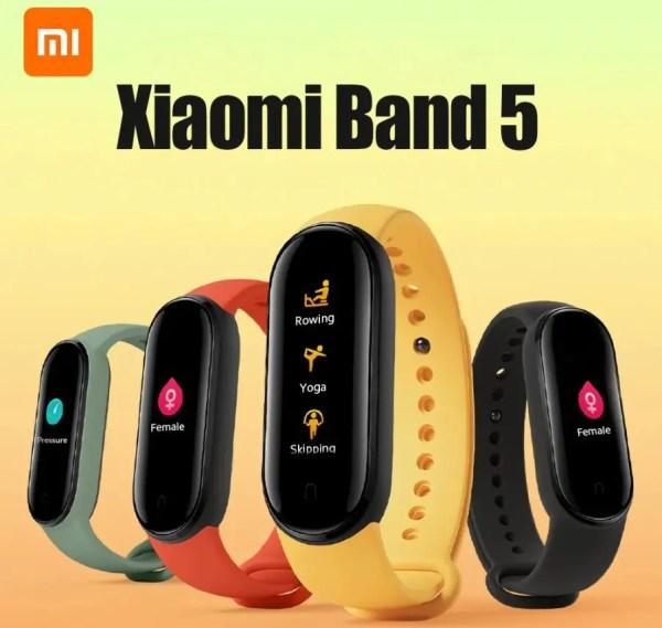Xiaomi Mi Smart Band 5が送料無料で$38.99でセール中!