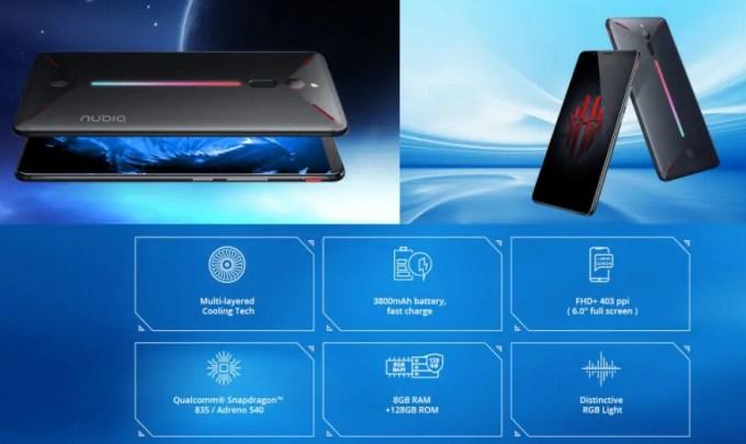 Nubia Red Magic NX609J Global Versionが$179.99でセール中!