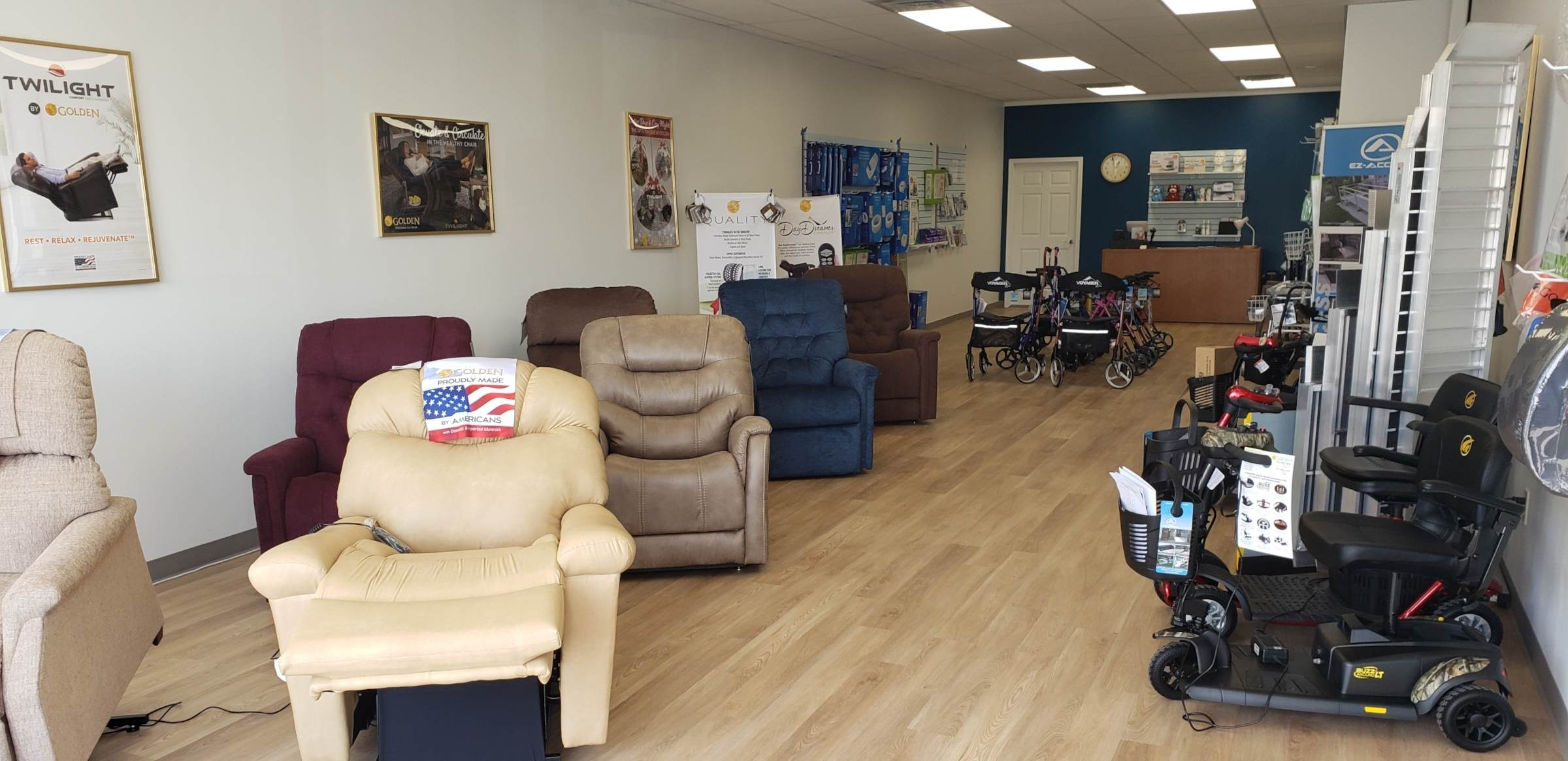 My Mobility Home Medical Equipment Showroom