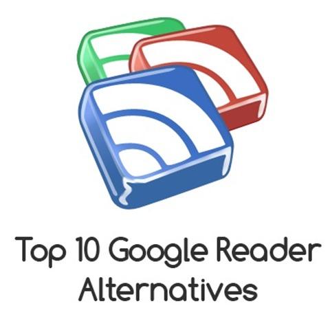 top-10-google-reader-alternatives