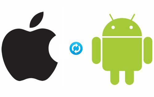 iPhone to android contact