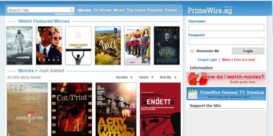 Prime Wire - watch free movies online