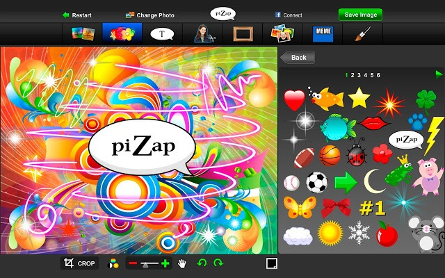 piZap Photo Editor - Free Online Photo Editor Extensions