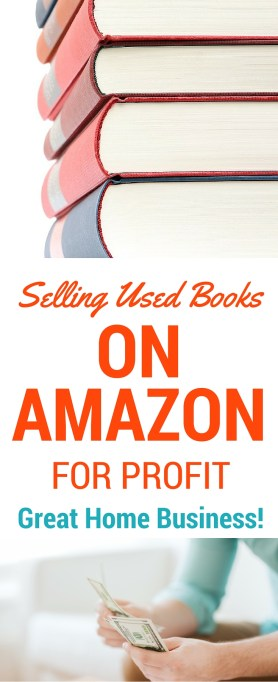 Sell used books on amazon for profit great home business for What can i make at home to sell online