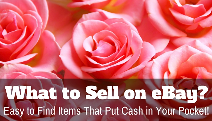 What To Sell on Ebay?  Easy to Find Items That Put Cash in Your Pocket!