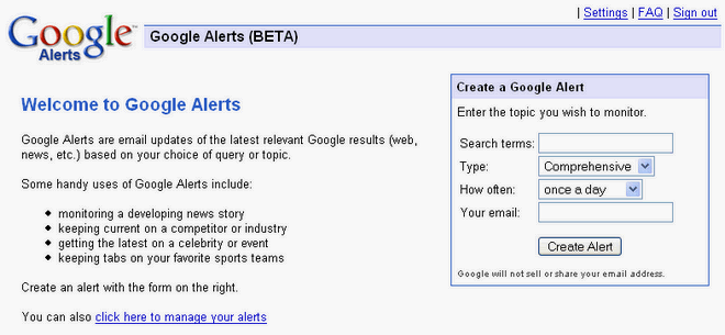 Google Alerts To Find Best Deals And Money Saving Tips