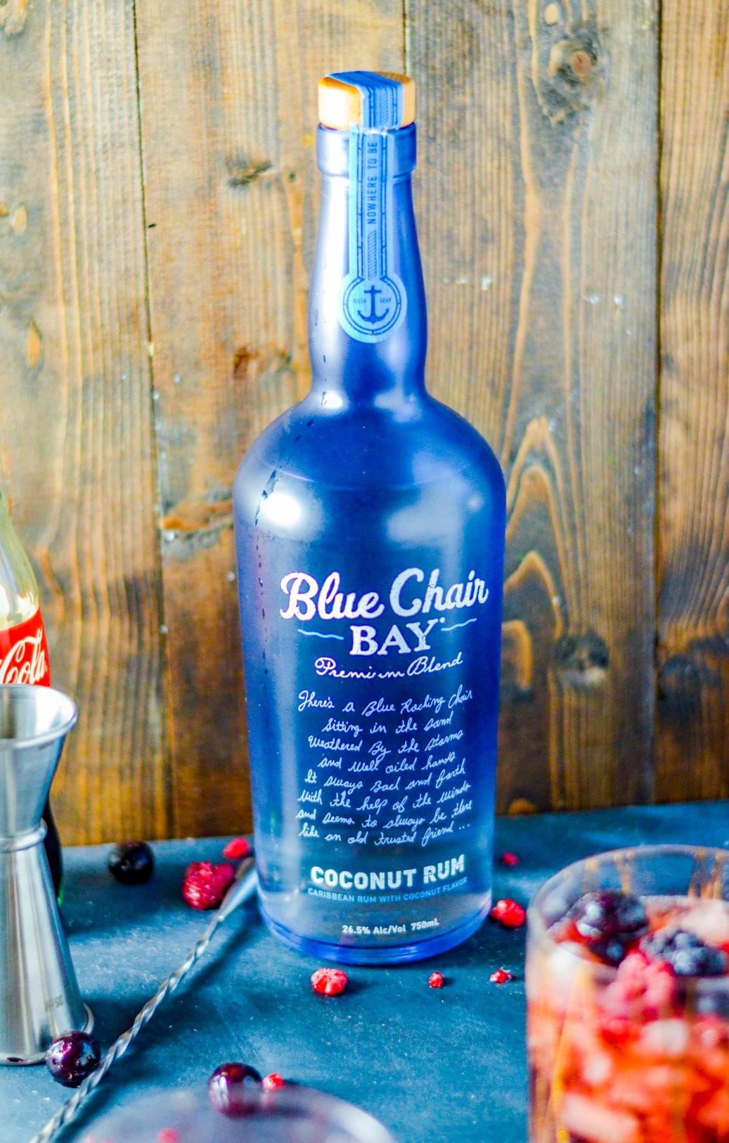 Blue Chair Bay Coconut Rum Mixed Berry Coconut Rum And Coke