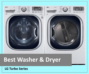 Top Pick - Best Washer & Dryer