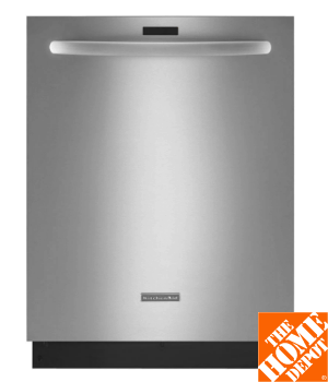 KitchenAid Architect Series II Top Control Dishwasher in Stainless Steel with Stainless Steel Tub, Ultra-Fine Filter, 43 dBA
