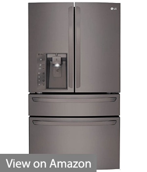 LG Black Diamond Series Counter-Depth French Door 36-Inch Refrigerator (LMXC23746D)