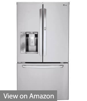 LG LFXS24663S French Door Refrigerator with 24 Cu. Ft. Capacity in Stainless Steel