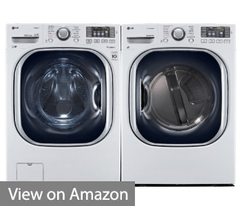 Power Pair Special-LG Turbo Series Ultra-Capacity Laundry System with Steam
