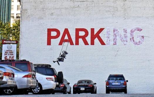banksy famous street artist