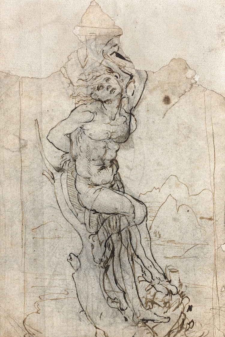 New Leonardo da Vinci Drawing Discovered by Tajan Auctions