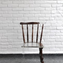 Fixing Wooden Chairs Brown Dining Artist Fixes Broken Furniture With Modern Translucent Materials