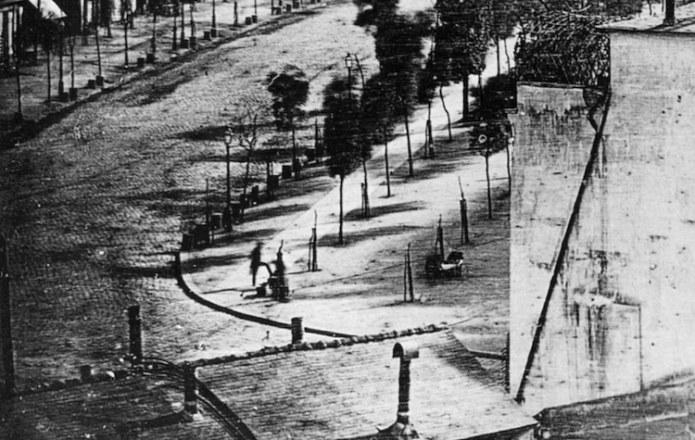World's First Photograph of a human