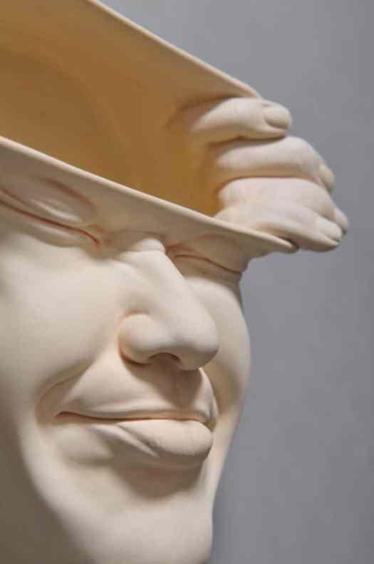 johnson tsang surreal sculpture in porcelain