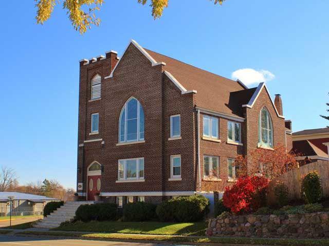 converted church homes