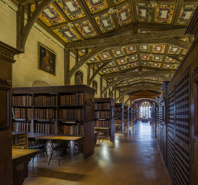 Duke Humfreys Library is One of Europes Oldest Reading Rooms