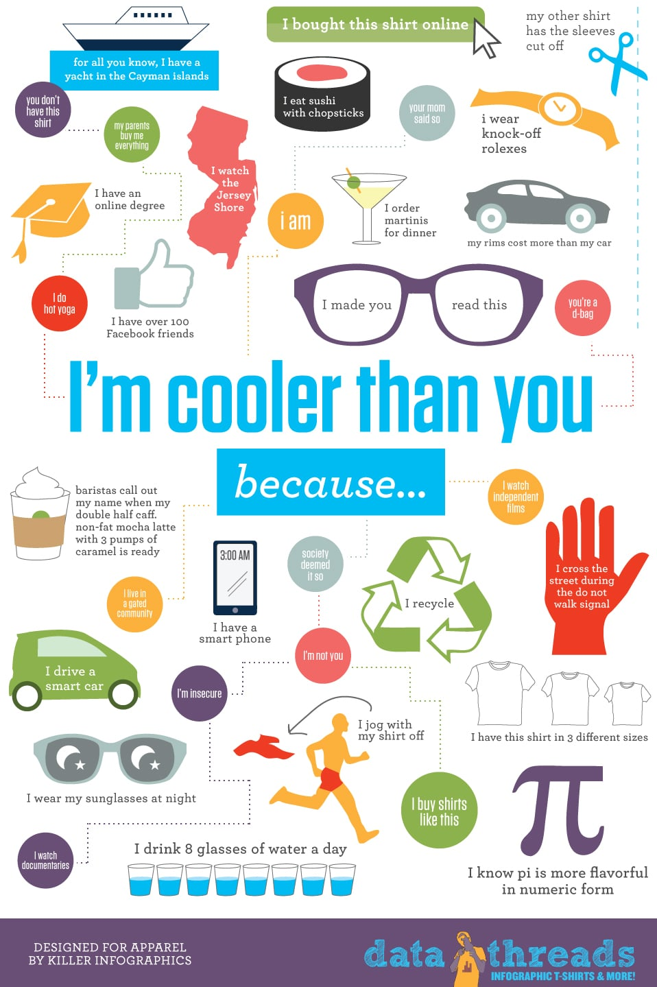 30 cool infographics that