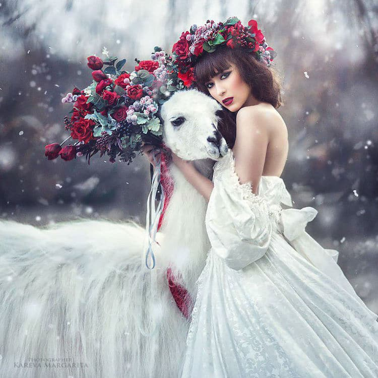 Beautiful Expersion Girl Wallpapers Photographer Transforms Russian Fairy Tales Into