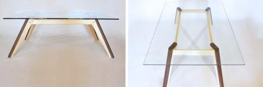 Tensegrity coffee table modern designer furniture