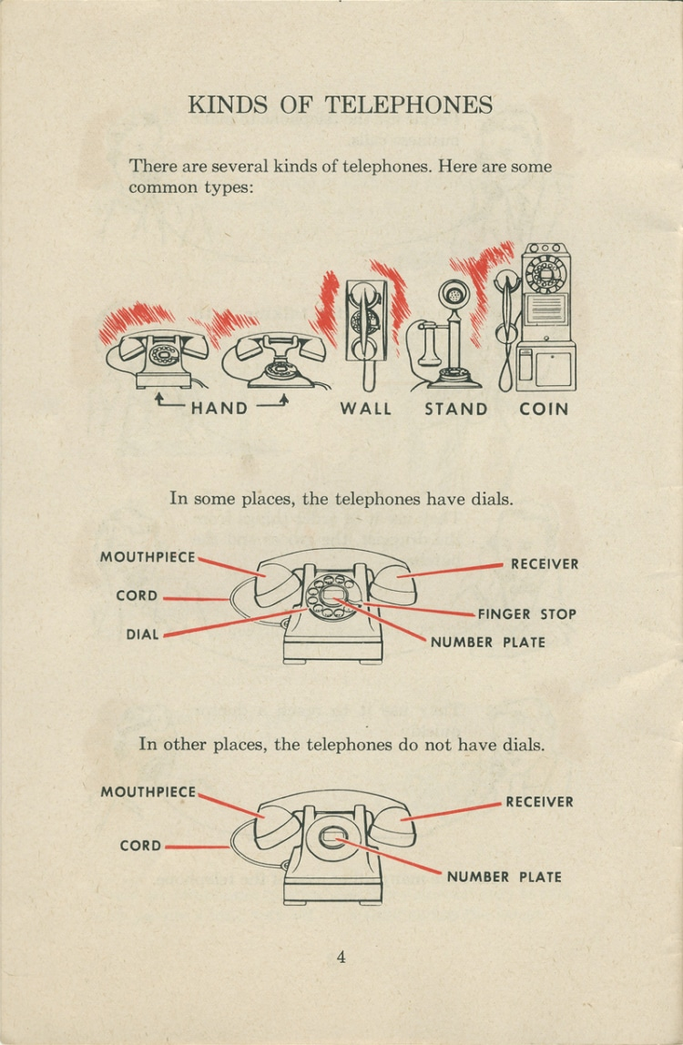 medium resolution of vintage etiquette guide telephone how to use a vintage rotary phone